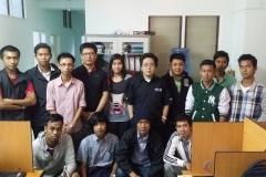 MTCNA Class (Yangon, June 2015)